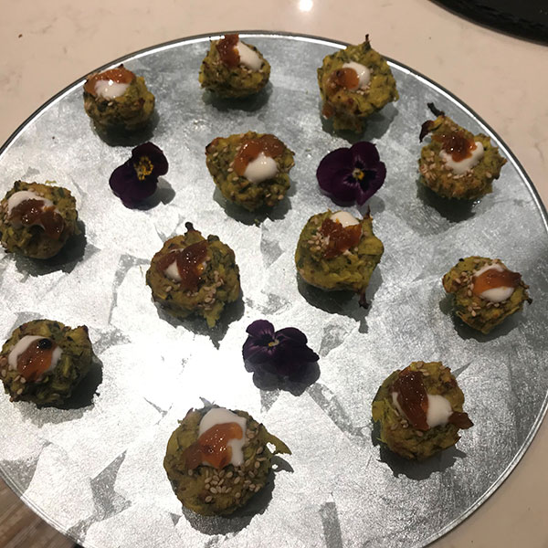 Jane Bellinger Canapes
